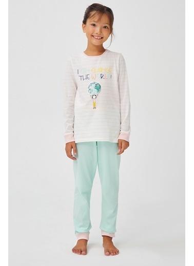 Penti Kız Çocuk Bts 2Li Pijama Takımı Renkli